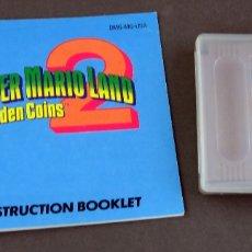 Videojuegos y Consolas: SUPER MARIO LAND 2 NINTENDO GAME BOY JUEGO CAJA INSTRUCCIONES FUNCIONA. Lote 180009866