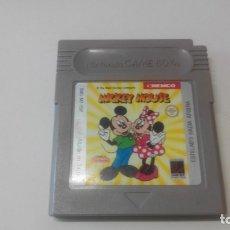Videojuegos y Consolas: JUEGO GAME BOY. MICKEY MOUSE. SOLO CARTUCHO. Lote 180246323