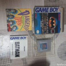 Videojuegos y Consolas: GAME BOY BATMAN. Lote 180262297
