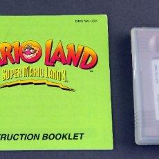 Videojuegos y Consolas: SUPER MARIO LAND 3 NINTENDO GAME BOY JUEGO CAJA INSTRUCCIONES FUNCIONA. Lote 180332230
