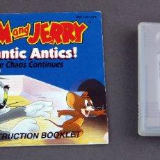 Videojuegos y Consolas: TOM AND JERRY FRANTIC ANTICS NINTENDO GAME BOY JUEGO CAJA INSTRUCCIONES FUNCIONA. Lote 180332822
