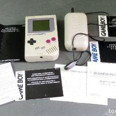 Videojuegos y Consolas: CONSOLA NINTENDO GAME BOY CLÁSICA CON INSTRUCCIONES MANUAL PROBADA FUNCIONA. Lote 180338991