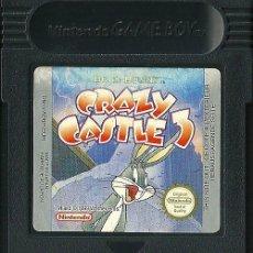 Videojuegos y Consolas: GAME BOY BUGS BUNNY CRAZY CASTLE 3. Lote 180507257