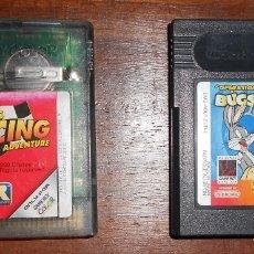 Videojuegos y Consolas: LOTE 2 JUEGOS GAME BOY Y GAME BOY COLOR. VER FOTOS. Lote 46363827