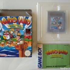 Videojuegos y Consolas: WARIO LAND SUPER MARIO LAND 3 GAME BOY GAMEBOY. Lote 181110433