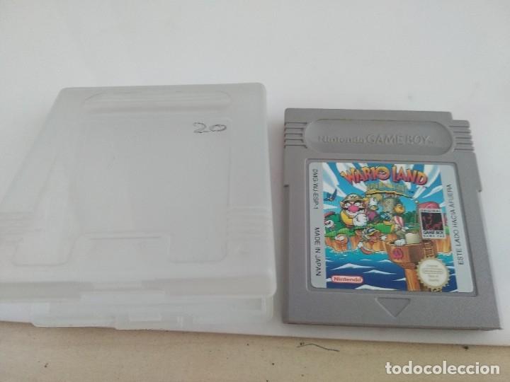 ANTIGUO JUEGO PARA NINTENDO GAME BOY WARIO LAND (Juguetes - Videojuegos y Consolas - Nintendo - GameBoy)