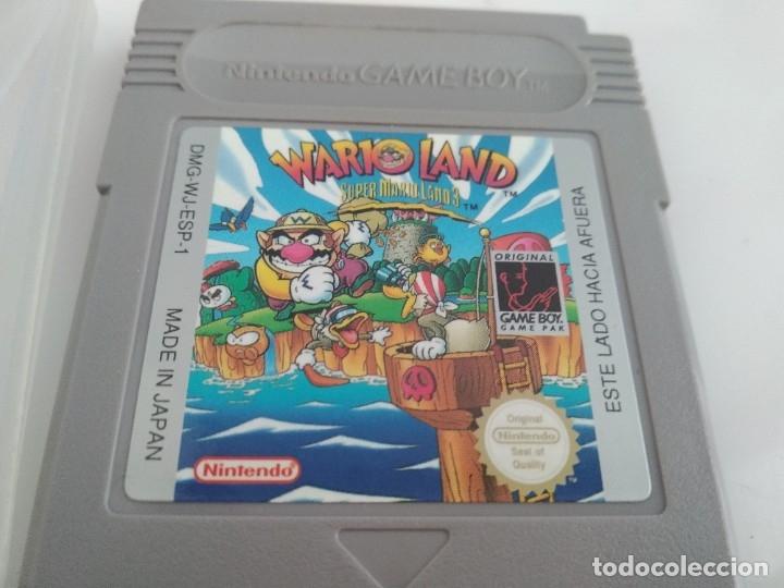 Videojuegos y Consolas: antiguo juego para nintendo game boy wario land - Foto 2 - 181598622