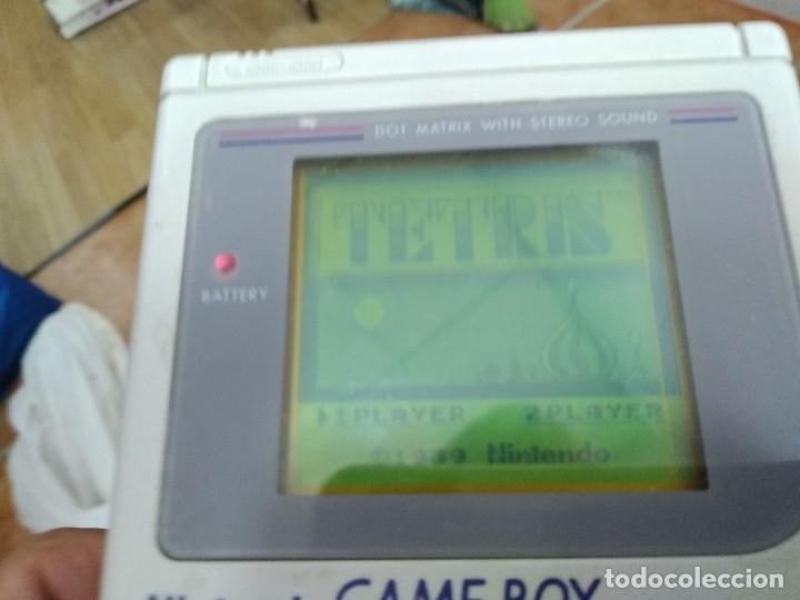 Videojuegos y Consolas: ANTIGUA MAQUINITA DE NINTENDO GAME BOY LA PRIMERA LA TOCHA + JUEGO - Foto 3 - 181688968