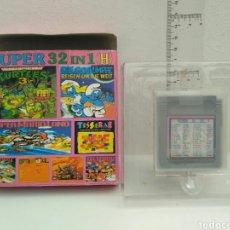 Videojuegos y Consolas: JUEGO GAME BOY 32 IN 1TURTLES SUPER MARIO PITUFOS. Lote 182079147