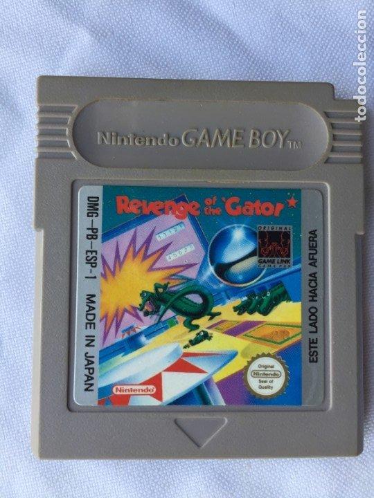 REVENGE OF THE GATOR (Juguetes - Videojuegos y Consolas - Nintendo - GameBoy)