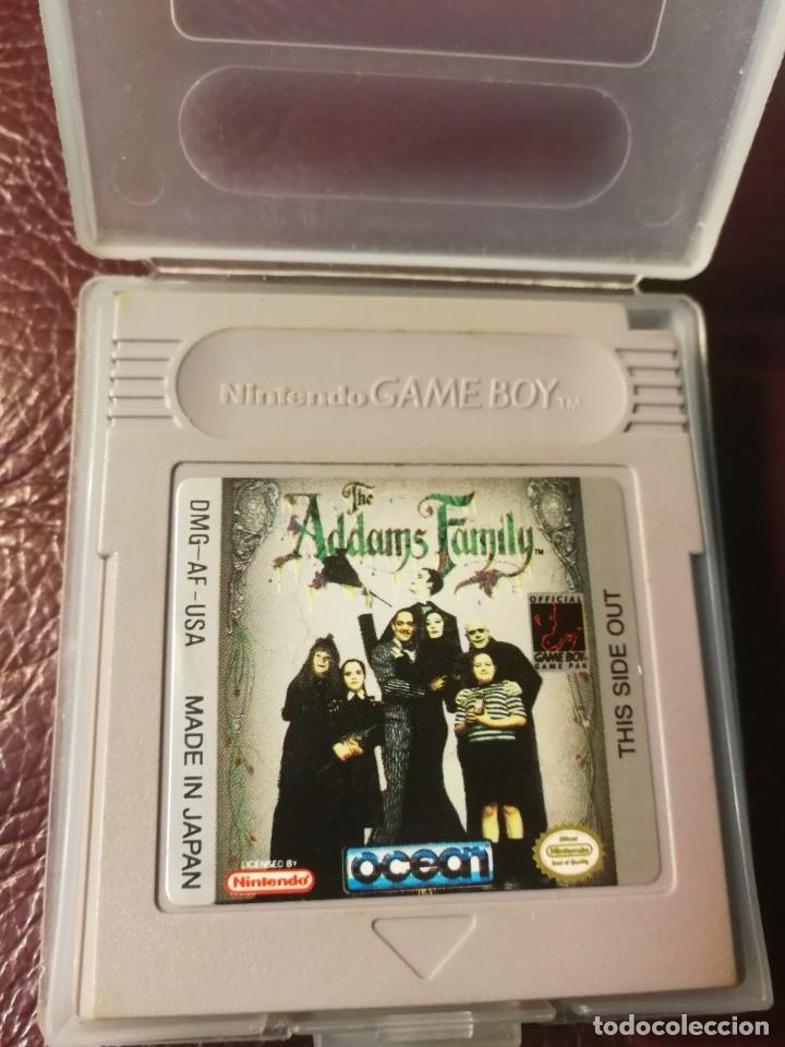 JUEGOFAMILY ADDAMS-DMG-AF.USA (Juguetes - Videojuegos y Consolas - Nintendo - GameBoy)