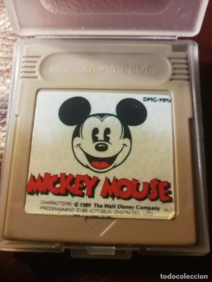 JUEGO MICKEY MOUSE-DMG MMA-1989 (Juguetes - Videojuegos y Consolas - Nintendo - GameBoy)