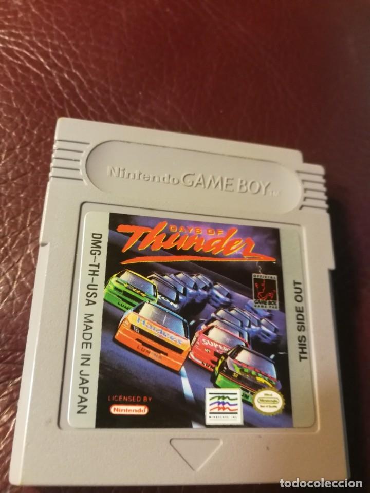 JUEGO DAYS OF THUNDER-DMG TH USA (Juguetes - Videojuegos y Consolas - Nintendo - GameBoy)