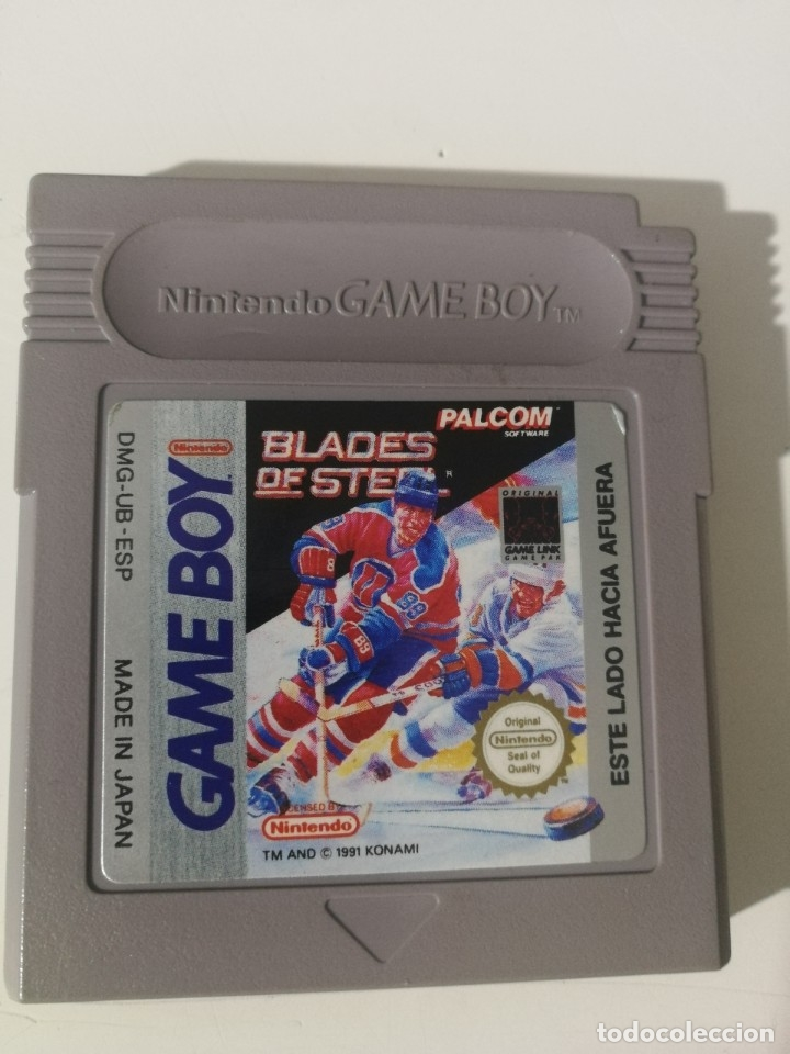 JUEGO BLADES OF STEEL- DMG-UB-ESP (Juguetes - Videojuegos y Consolas - Nintendo - GameBoy)
