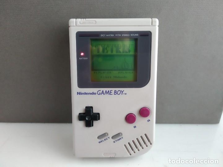 ANTIGUA NINTENDO GAME BOY LA PRIMERA LA TOCHA + JUEGO (Juguetes - Videojuegos y Consolas - Nintendo - GameBoy)