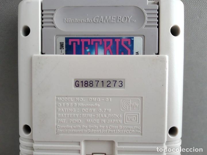 Videojuegos y Consolas: ANTIGUA NINTENDO GAME BOY la primera la tocha + juego - Foto 8 - 182484998