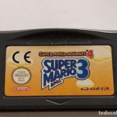 Videojuegos y Consolas: JUEGO NINTENDO SUPER MARIO 3 BROS GAME BOY ADVANCE. Lote 182581150