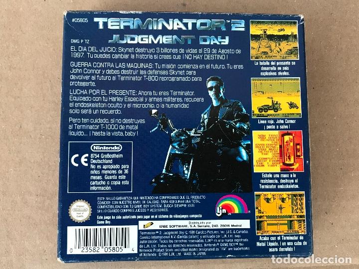 Videojuegos y Consolas: Terminator 2 para game boy version española - Foto 5 - 182807702