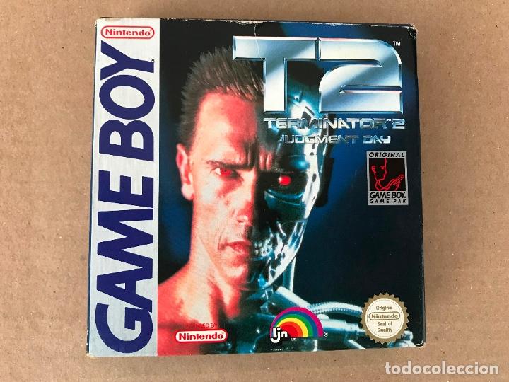 TERMINATOR 2 PARA GAME BOY VERSION ESPAÑOLA (Juguetes - Videojuegos y Consolas - Nintendo - GameBoy)