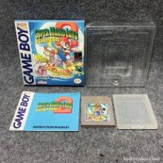 Videojuegos y Consolas: SUPER MARIO LAND 2 6 GOLDEN COINS NINTENDO GAME BOY. Lote 183944535