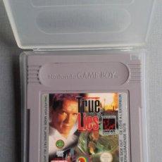 Videojogos e Consolas: NINTENDO GAME BOY CLASSIC TRUE LIES CARTUCHO+FUNDA PAL R9794. Lote 184132551