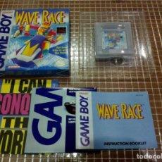 Videojuegos y Consolas: GB WAVE RACE COMPLETO NTSC USA NINTENDO GAMEBOY CLASICA. Lote 184144760
