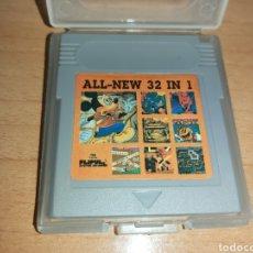 Videojuegos y Consolas: 32 EN 1 GAME BOY NINTENDO GAMEBOY. Lote 185742567