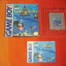 Videojuegos y Consolas: SEAQUEST DSV GAMEBOY NINTENDO GAME BOY. Lote 185962640