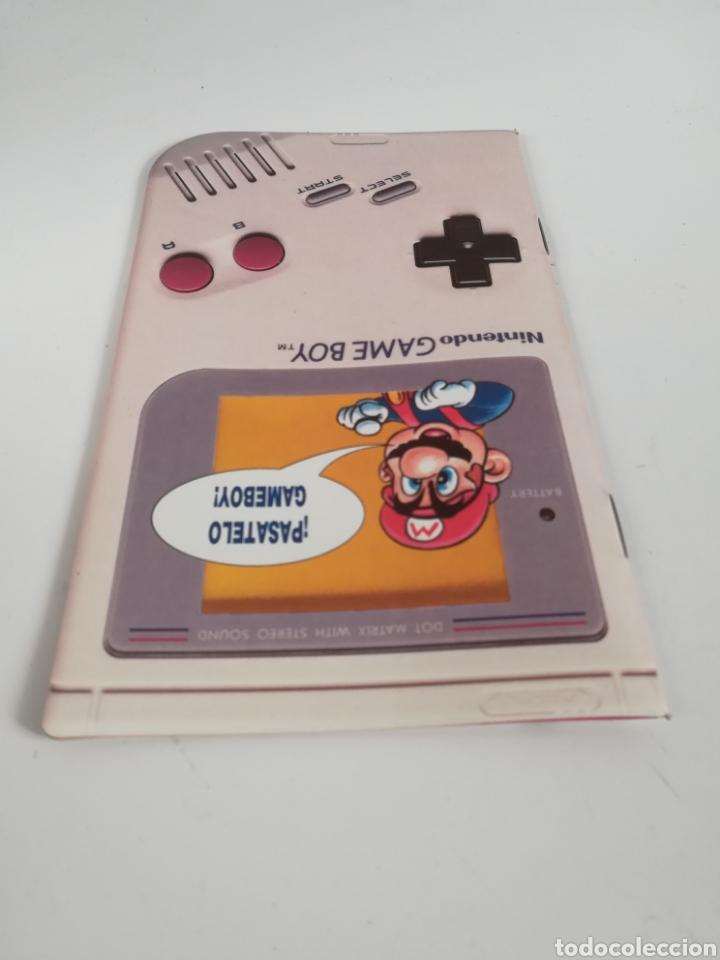 Videojuegos y Consolas: Folleto publicidad Nintendo Game Boy ERBE Catálogo Consola Videojuego Club Super Mario Bros Gameboy - Foto 4 - 186359123