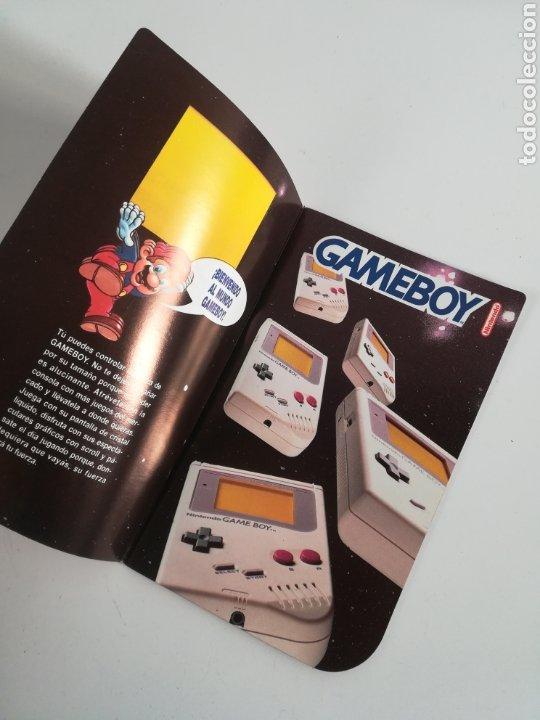 Videojuegos y Consolas: Folleto publicidad Nintendo Game Boy ERBE Catálogo Consola Videojuego Club Super Mario Bros Gameboy - Foto 6 - 186359123