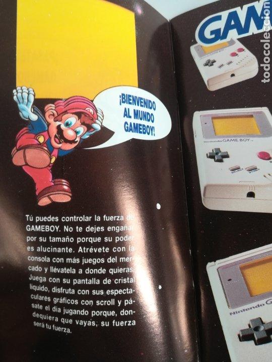 Videojuegos y Consolas: Folleto publicidad Nintendo Game Boy ERBE Catálogo Consola Videojuego Club Super Mario Bros Gameboy - Foto 7 - 186359123