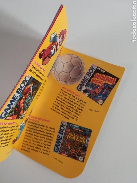 Videojuegos y Consolas: Folleto publicidad Nintendo Game Boy ERBE Catálogo Consola Videojuego Club Super Mario Bros Gameboy - Foto 11 - 186359123