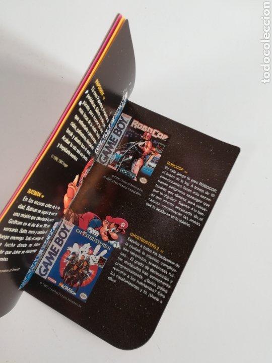Videojuegos y Consolas: Folleto publicidad Nintendo Game Boy ERBE Catálogo Consola Videojuego Club Super Mario Bros Gameboy - Foto 12 - 186359123