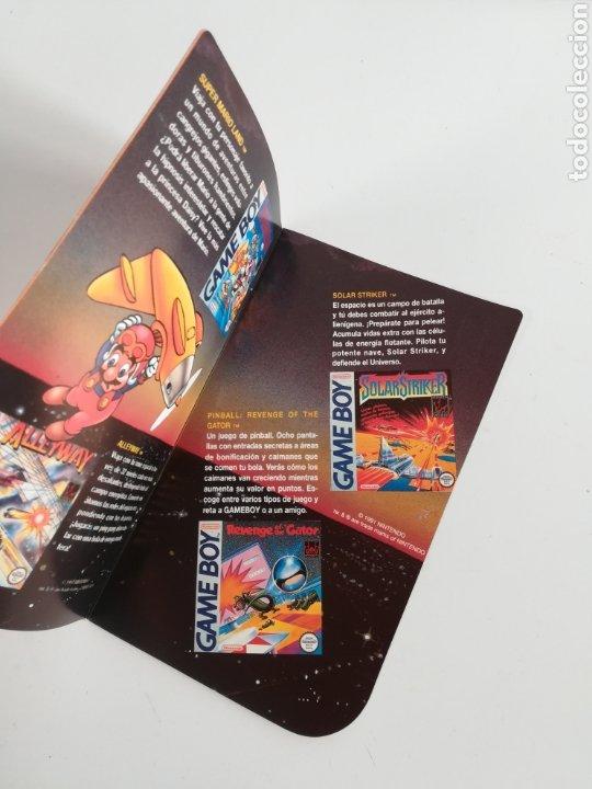 Videojuegos y Consolas: Folleto publicidad Nintendo Game Boy ERBE Catálogo Consola Videojuego Club Super Mario Bros Gameboy - Foto 8 - 186359123