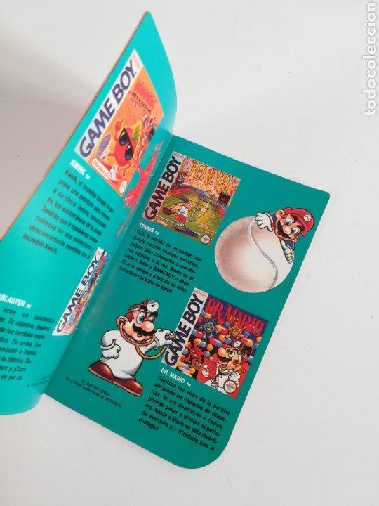 Videojuegos y Consolas: Folleto publicidad Nintendo Game Boy ERBE Catálogo Consola Videojuego Club Super Mario Bros Gameboy - Foto 9 - 186359123