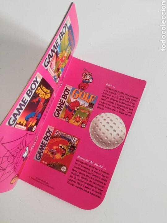 Videojuegos y Consolas: Folleto publicidad Nintendo Game Boy ERBE Catálogo Consola Videojuego Club Super Mario Bros Gameboy - Foto 10 - 186359123