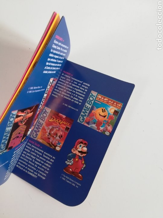 Videojuegos y Consolas: Folleto publicidad Nintendo Game Boy ERBE Catálogo Consola Videojuego Club Super Mario Bros Gameboy - Foto 13 - 186359123