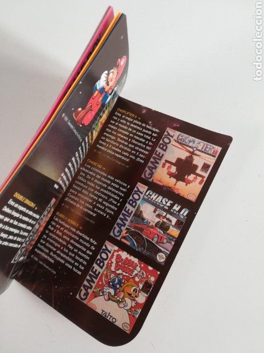 Videojuegos y Consolas: Folleto publicidad Nintendo Game Boy ERBE Catálogo Consola Videojuego Club Super Mario Bros Gameboy - Foto 14 - 186359123