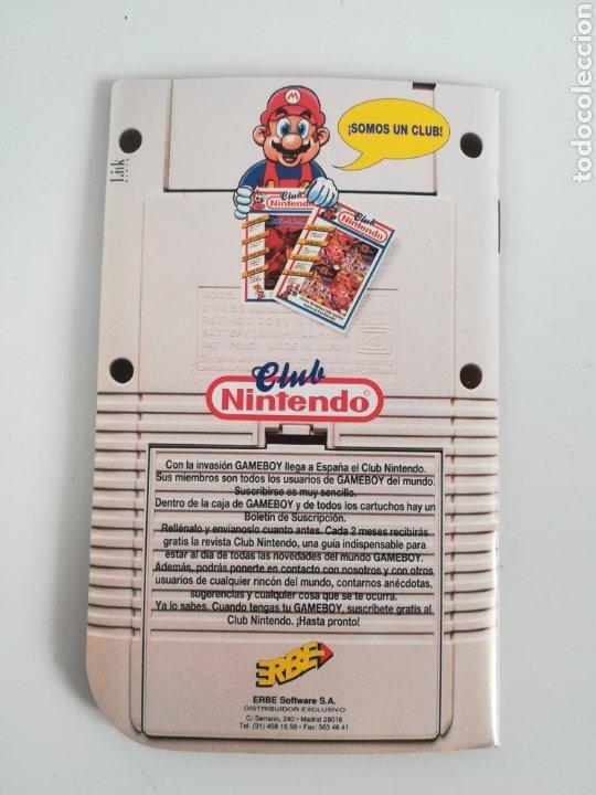 Videojuegos y Consolas: Folleto publicidad Nintendo Game Boy ERBE Catálogo Consola Videojuego Club Super Mario Bros Gameboy - Foto 15 - 186359123
