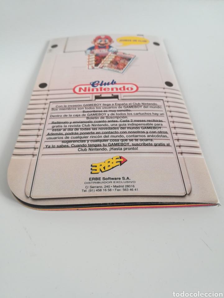 Videojuegos y Consolas: Folleto publicidad Nintendo Game Boy ERBE Catálogo Consola Videojuego Club Super Mario Bros Gameboy - Foto 16 - 186359123