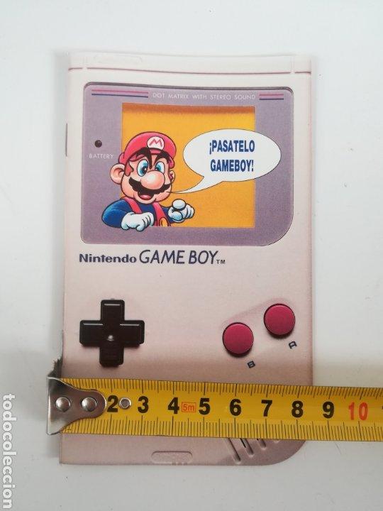Videojuegos y Consolas: Folleto publicidad Nintendo Game Boy ERBE Catálogo Consola Videojuego Club Super Mario Bros Gameboy - Foto 19 - 186359123