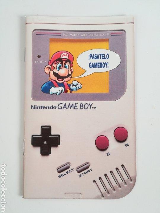 FOLLETO PUBLICIDAD NINTENDO GAME BOY ERBE CATÁLOGO CONSOLA VIDEOJUEGO CLUB SUPER MARIO BROS GAMEBOY (Juguetes - Videojuegos y Consolas - Nintendo - GameBoy)