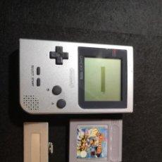 Videojuegos y Consolas: NINTENDO GAME BOY POCKET GRIS MG-001. Lote 186431812