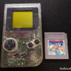 Videojuegos y Consolas: GAME BOY CLASSIC TRANSPARENTE DMG-01 1989. Lote 186431988