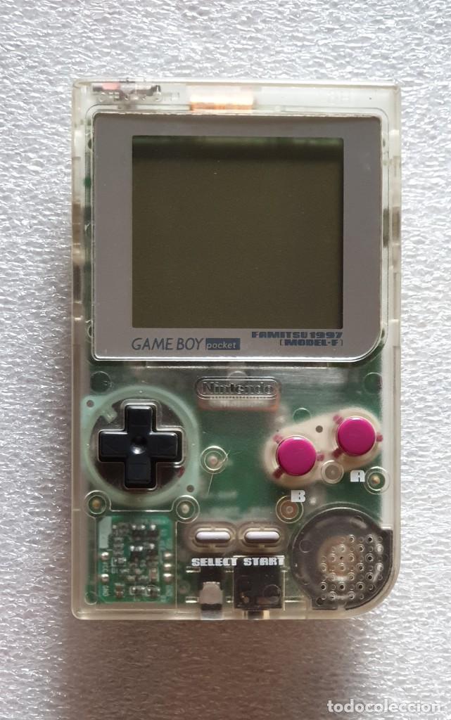 GAME BOY POCKET FAMITSU 1997 MODEL-F. NINTENDO (Juguetes - Videojuegos y Consolas - Nintendo - GameBoy)