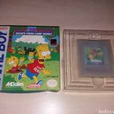 Videojuegos y Consolas: NINTENDO GAME BOY - BART SIMPSON'S - ESCAPE FROM CAMP DEADLY. Lote 187322997