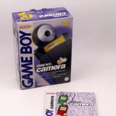 Videojuegos y Consolas: GAMEBOY CAMERA - CAJA Y INSTRUCCIONES - GAME BOY - NINTENDO GAMEBOY POCKET. Lote 187446276