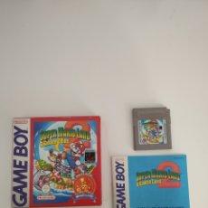Videojuegos y Consolas: SUPER MARIO LAND 2 GAME BOY GAMEBOY. Lote 189239703