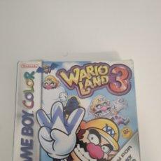 Videojuegos y Consolas: WARIOLAND 3 PRECINTADO NUEVO WARIO LAND GAME BOY GAMEBOY. Lote 189239780