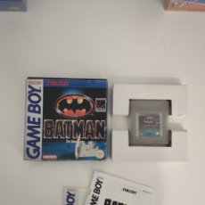 Videojuegos y Consolas: BATMAN GAMEBOY GAME BOY. Lote 189239840
